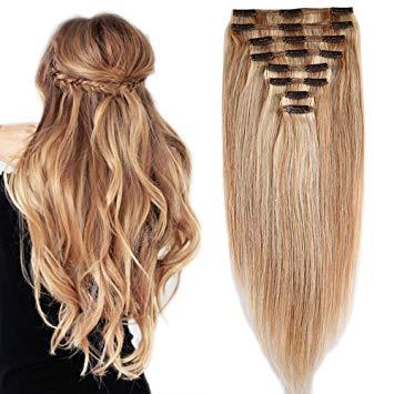 extension de cheveux a clip naturel