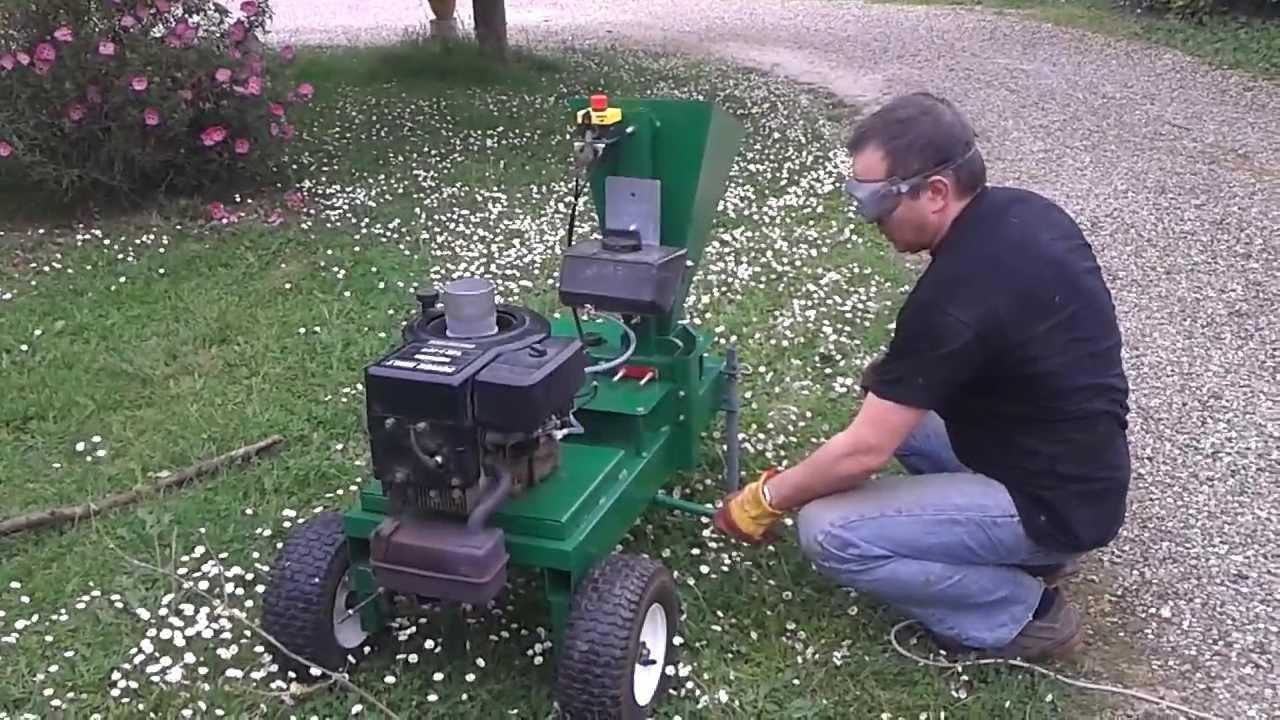 fabriquer un broyeur de végétaux