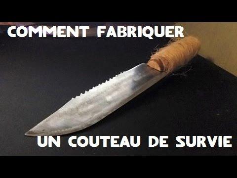 faire un couteau de survie
