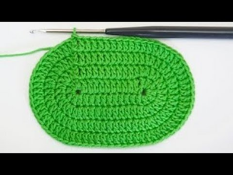 faire un ovale au crochet