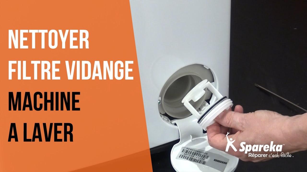 filtre machine à laver