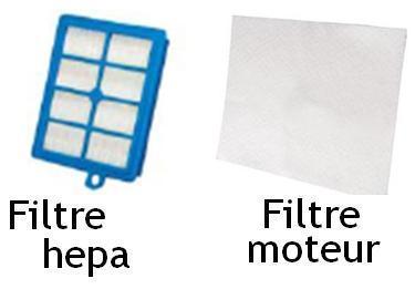 filtre moteur aspirateur
