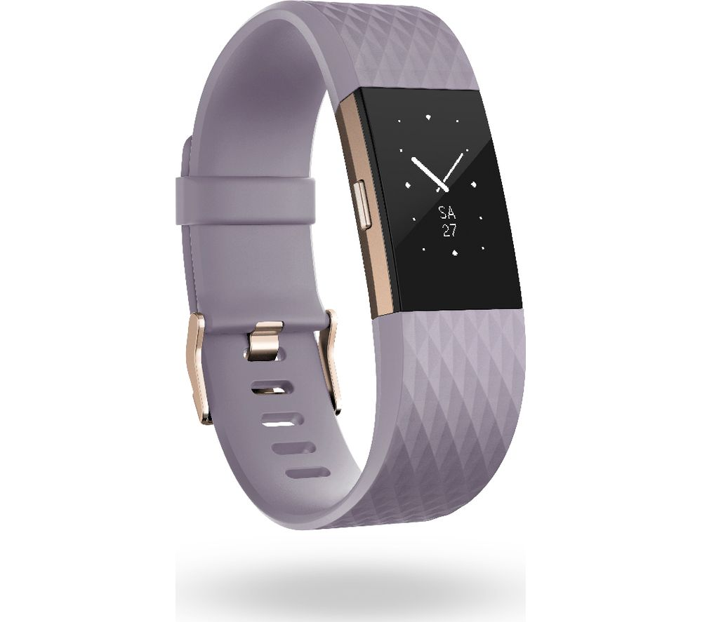 fitbit charge 2 lavande or rose