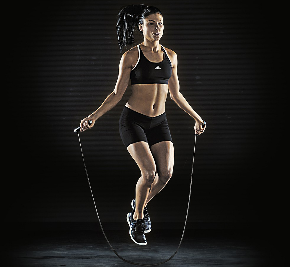 fitness corde a sauter