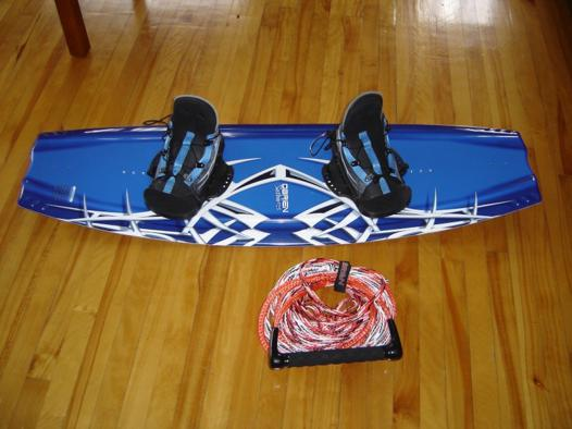 fixation wakeboard