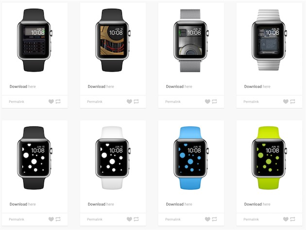 fond ecran apple watch