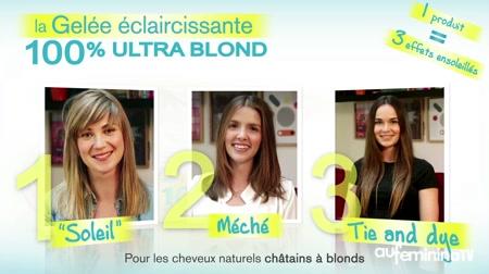 gelée 100 ultra blond garnier