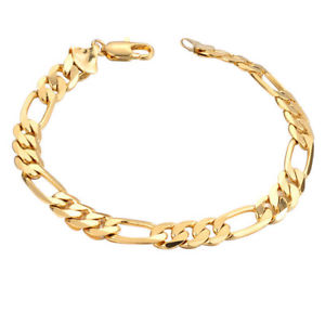 gourmette homme or 18k