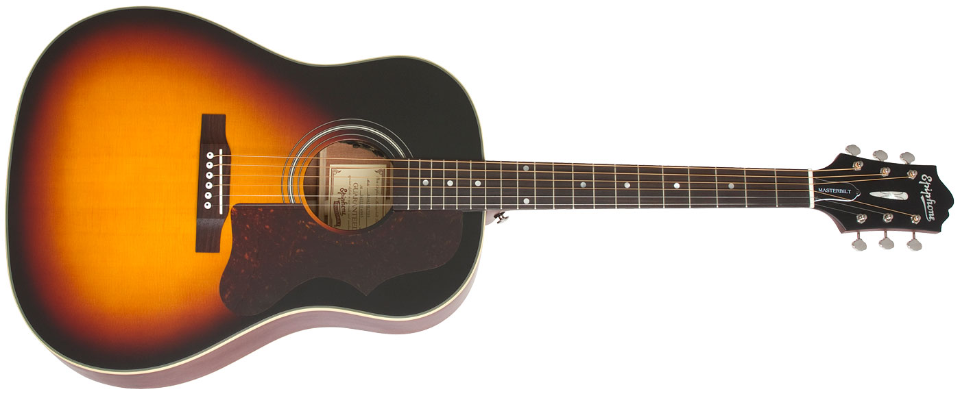 guitare folk electro acoustique epiphone