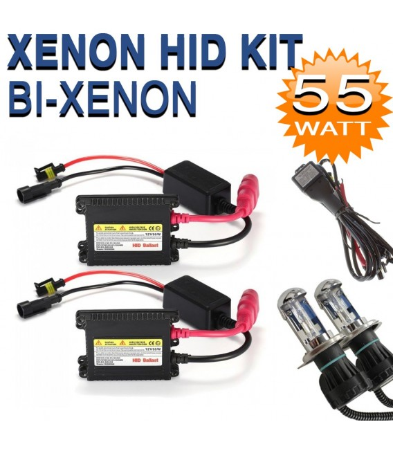 h4 bi xenon hid kit