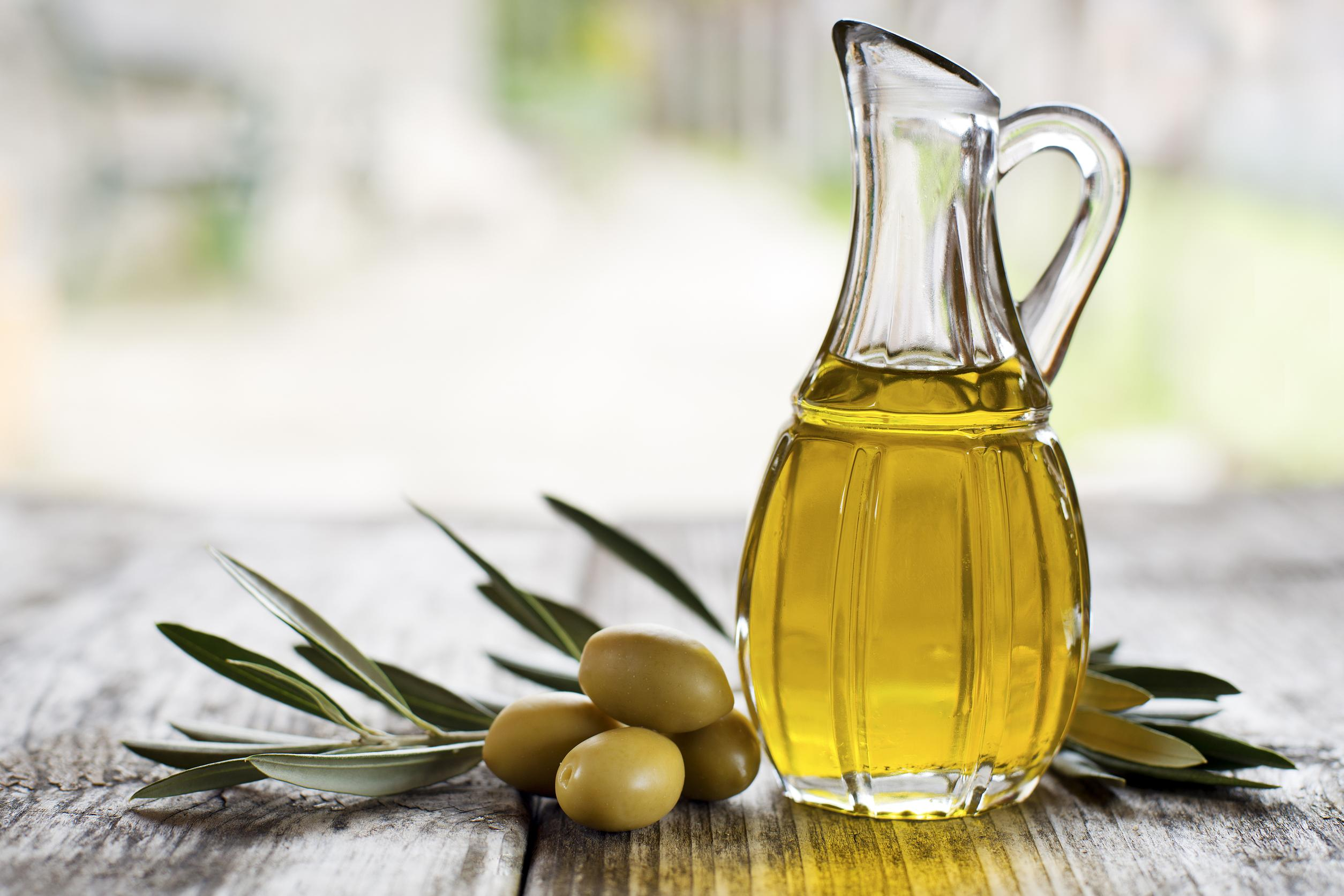 huile d olive et peau