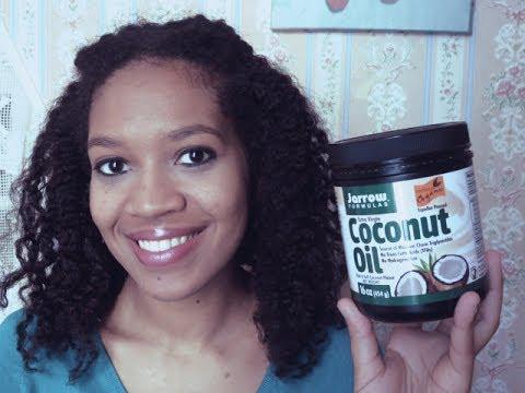huile de coco et cheveux crépus