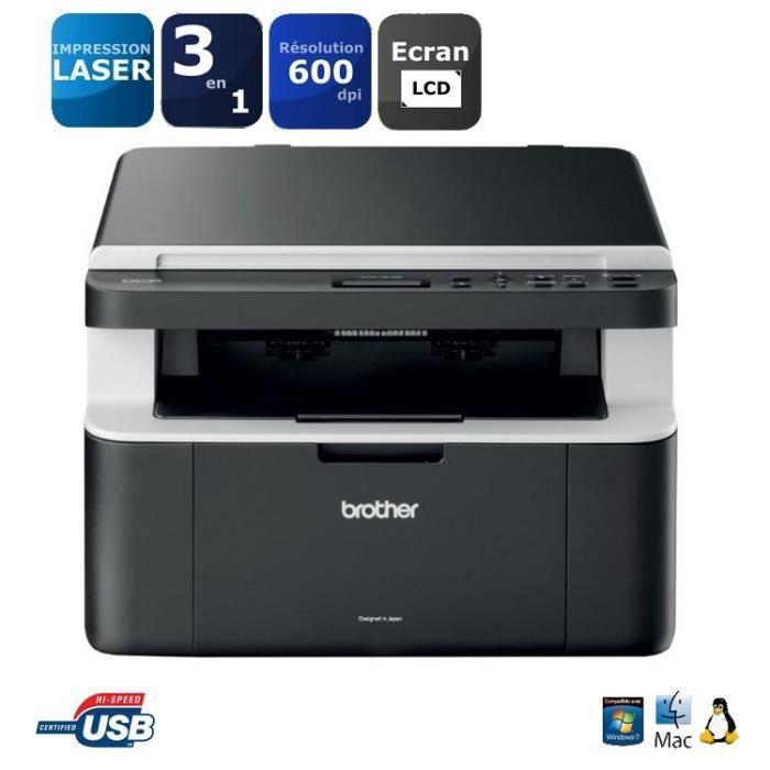 imprimante laser brother multifonction