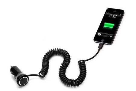 iphone chargeur voiture
