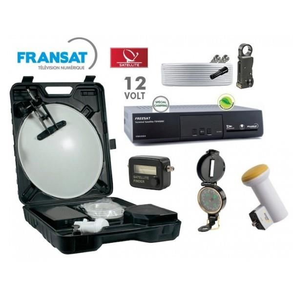 kit parabole camping car