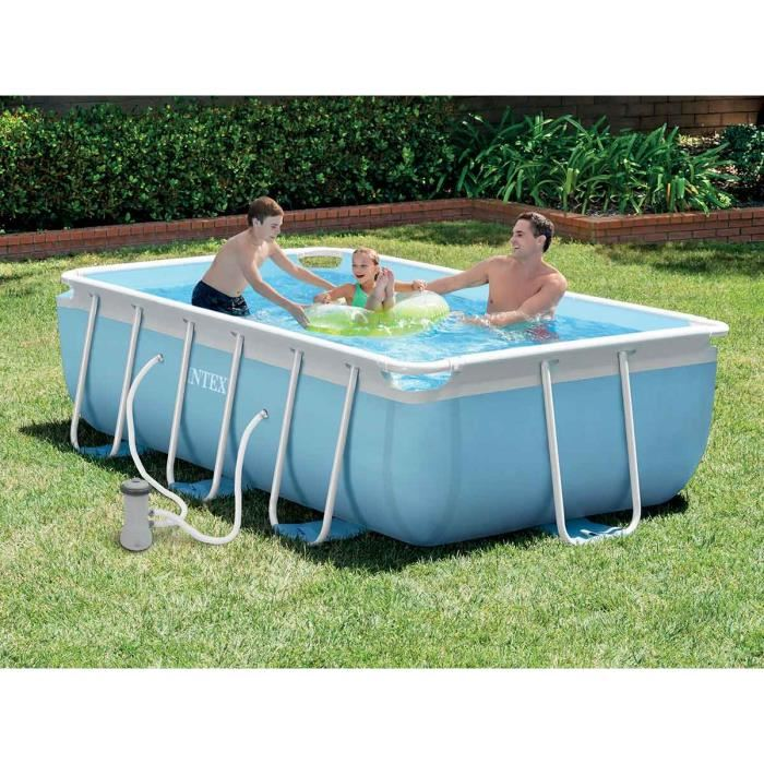 kit piscine tubulaire rectangulaire