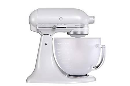 kitchenaid blanc givré