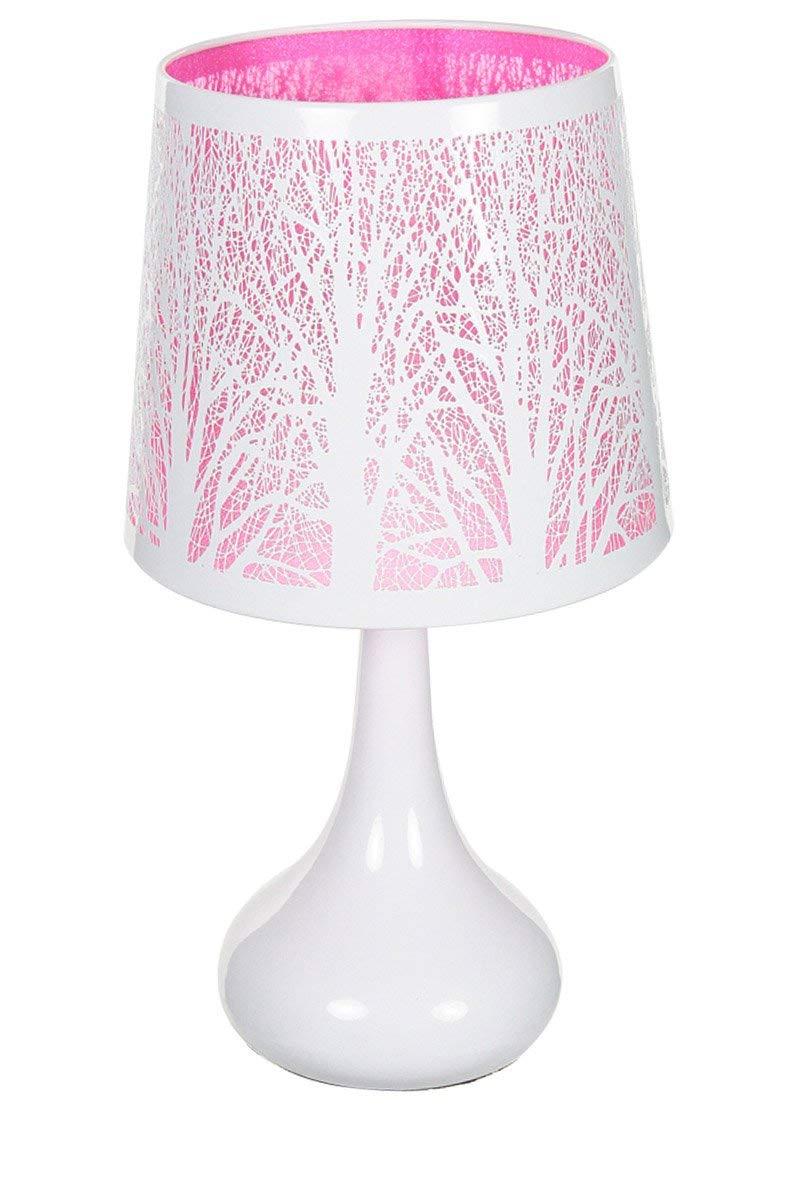 lampe de chevet rose