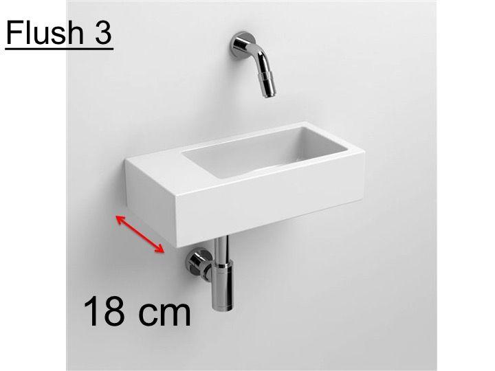 lave main largeur 18 cm