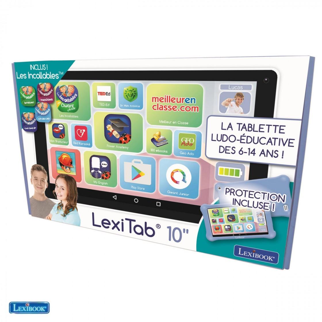 lexitab 10 protection
