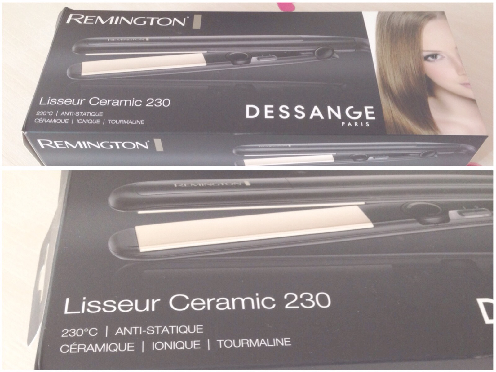 lisseur remington ceramic 230