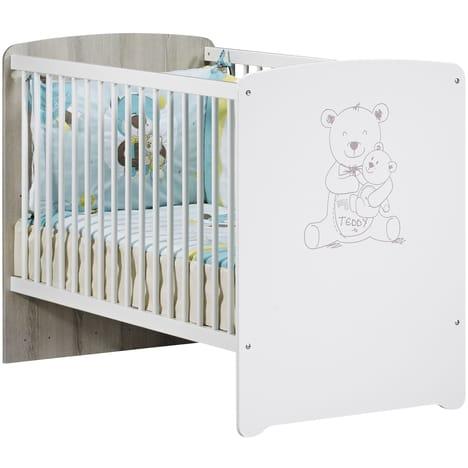 lit bébé 60x120 pas cher