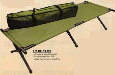 lit de camp armée