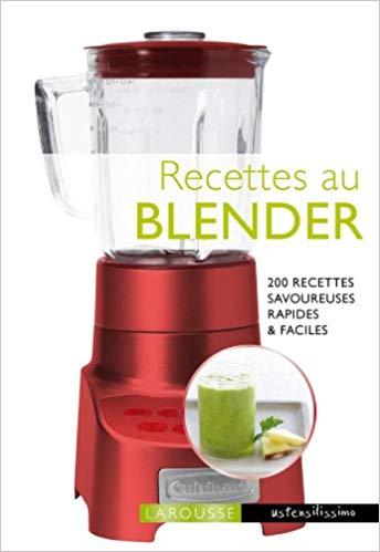 livre de recette blender chauffant