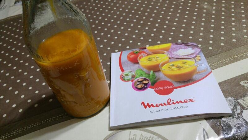 livre recette easy soup moulinex