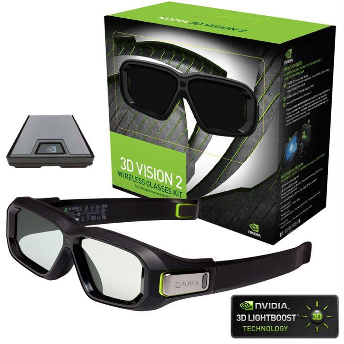 lunette nvidia 3d vision 2