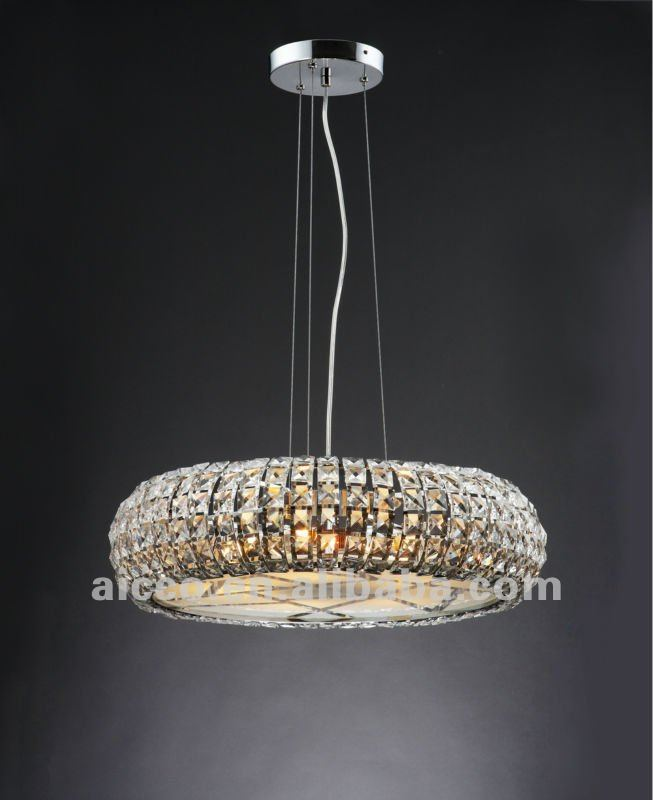 lustre cristal moderne suspension