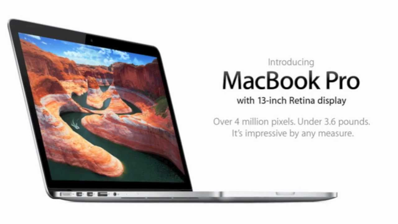 mac book pro promotion