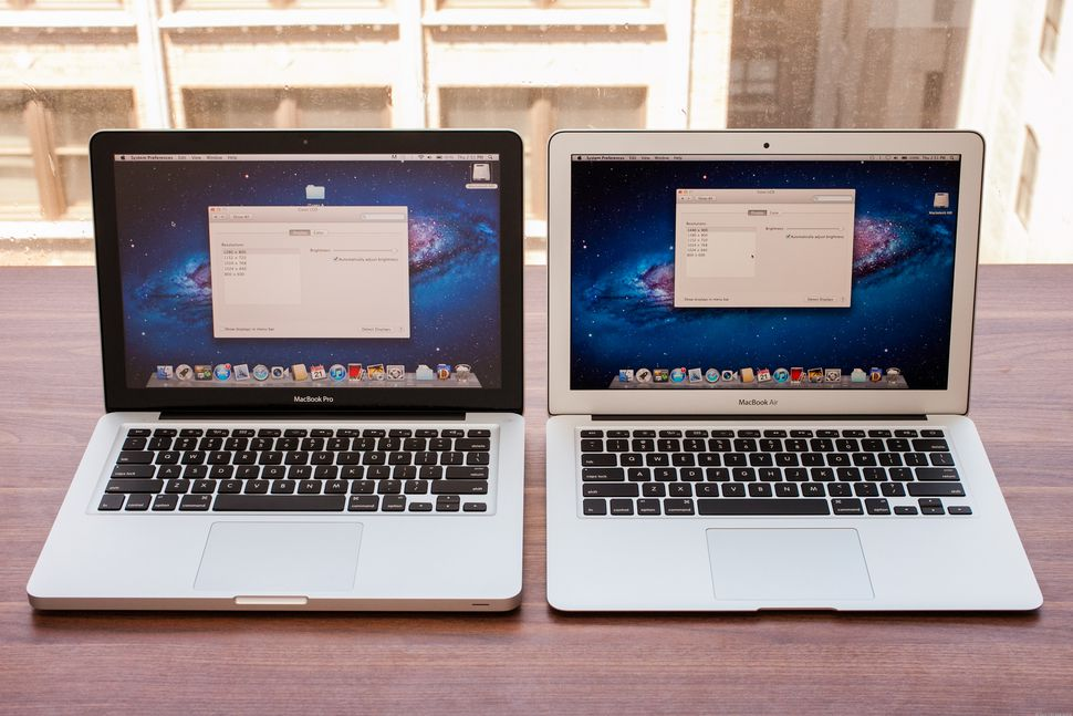 macbook air ou pro