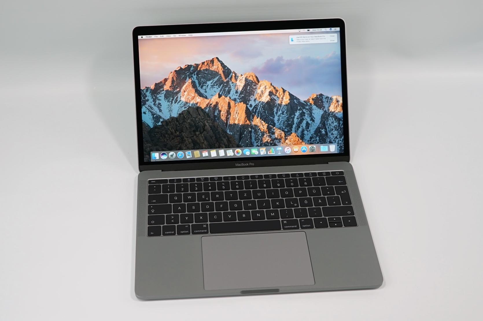 macbook pro 2017 test