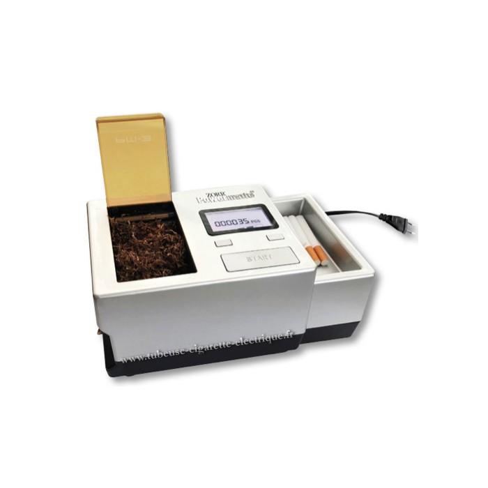 machine a tube electrique cigarette