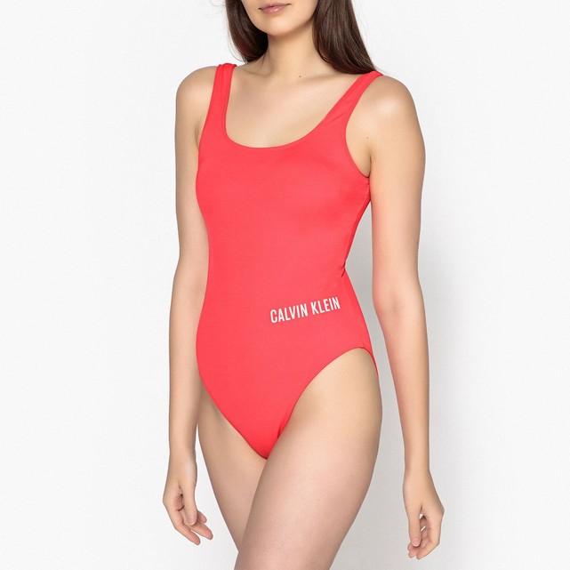 maillot de bain calvin klein rouge