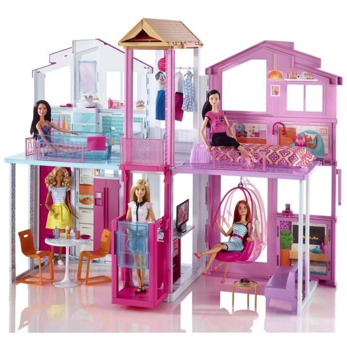 maison de barbie pas cher
