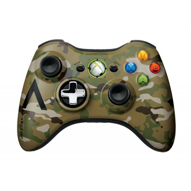 manette xbox 360 camouflage