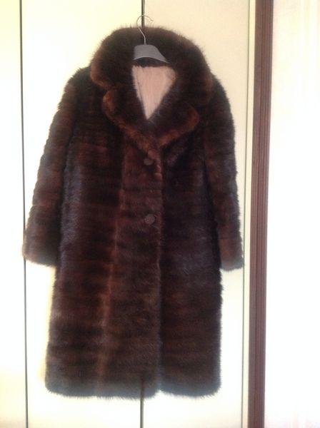 manteau fourrure femme occasion