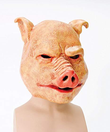 masque cochon latex