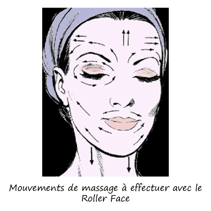 masseur visage bois