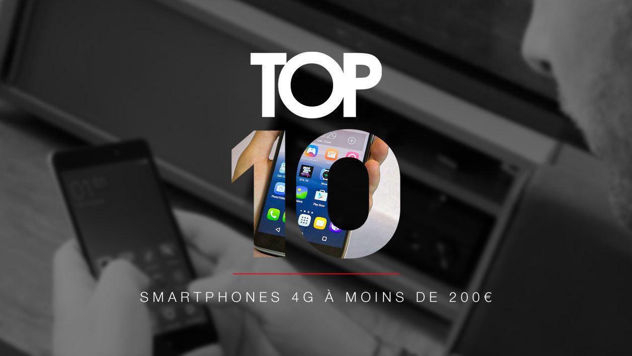 meilleur smartphone a moins de 200 euros