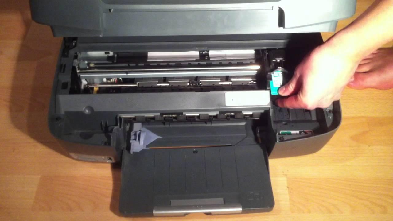 mettre cartouche imprimante hp