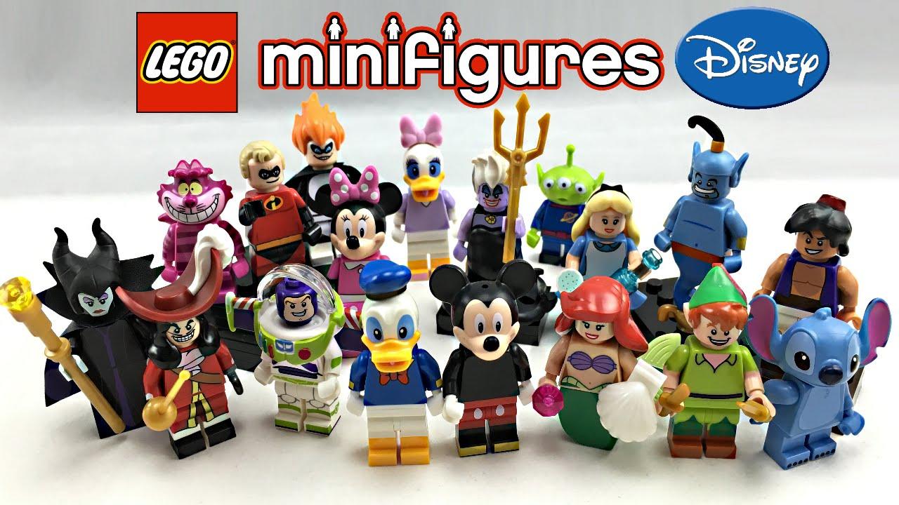 mini figurine disney lego