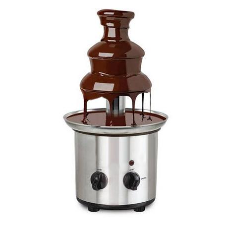 mini fontaine au chocolat