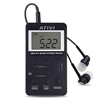 mini radio portable