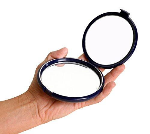 miroir de poche grossissant x10