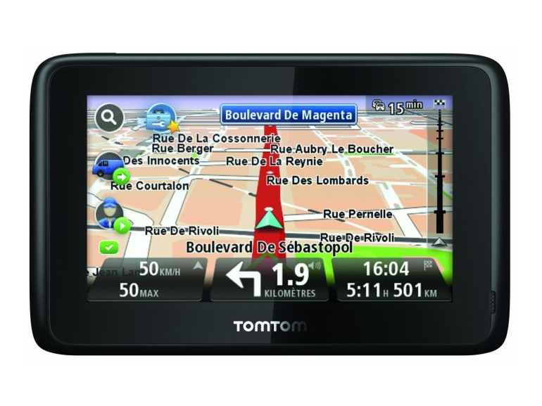 mise a jour gps tomtom one
