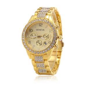 montre dorée femme pas cher