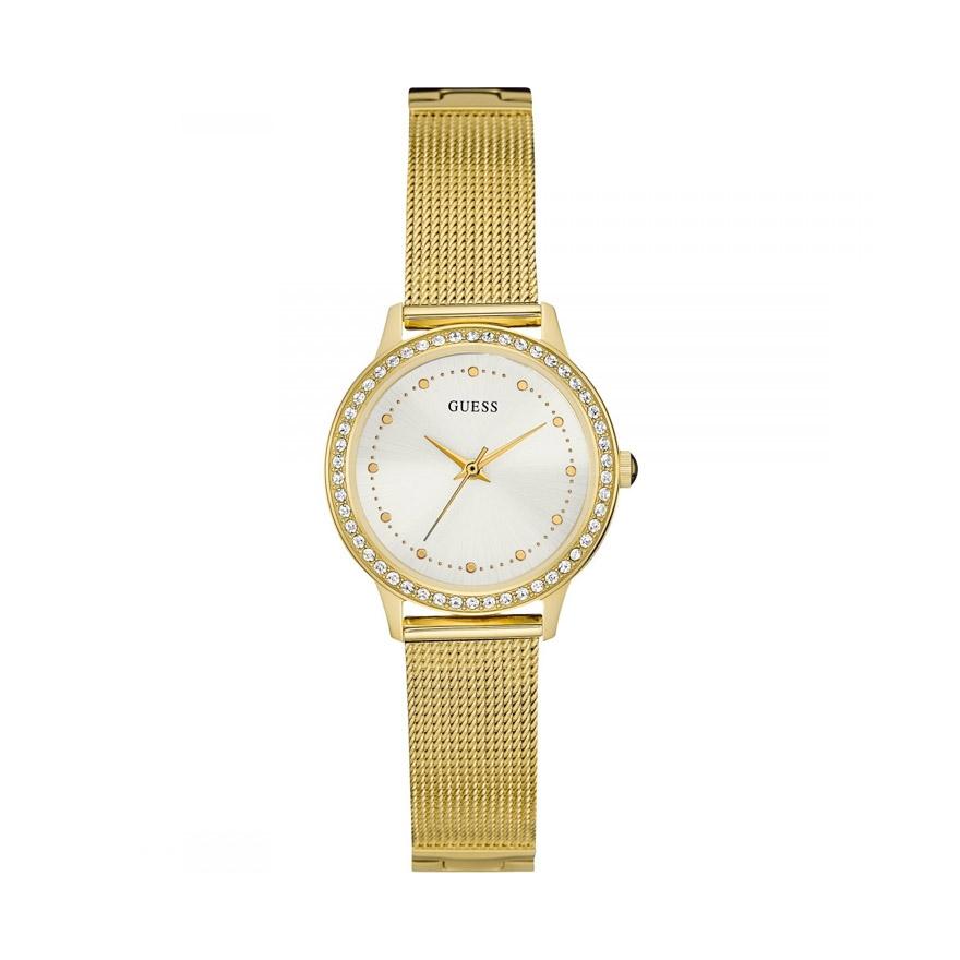 montre doree femme
